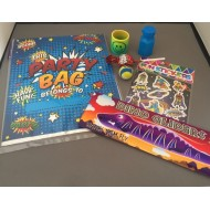 Boys Themed Filled Party Bag Kit x6