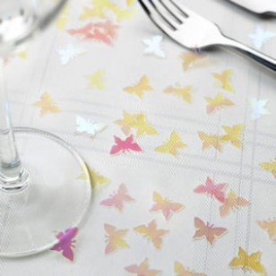 Butterfly Iridescent Table Confetti