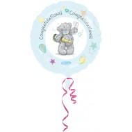 Congratulations Me to You Bear Balloon
