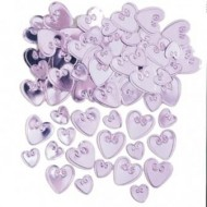 Cotton Candy Loving Hearts Table Confetti