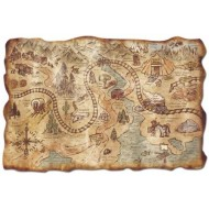 Cowboy Old West Map