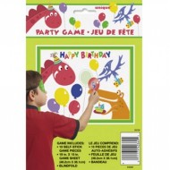 Dinosaur Pin the Balloon Party Game
