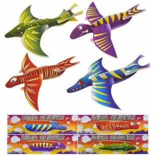 Dinosaur Gliders Party Favours x6