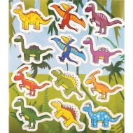 Dinosaur Party Favour Stickers x 6