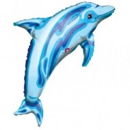 Dolphin Birthday Deep Sea Party Large Balloon