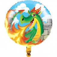 Medieval Dragon Birthday Balloon