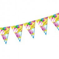 Easter Egg Plastic Party Bunting