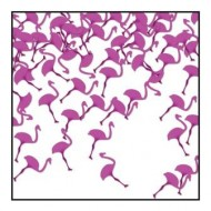 Flamingo Shaped Table Confetti