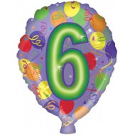 Age 6 Birthday Balloon