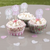Frills and Spills Afternoon Tea Cupcake Picks