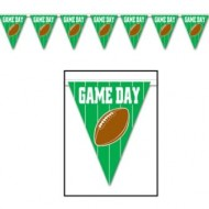American Football Game Day Sports Flag Pennant Bunting