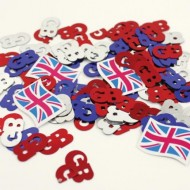 GB Britain Table Confetti