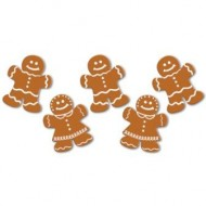 Gingerbread Man & Woman Christmas Cutouts