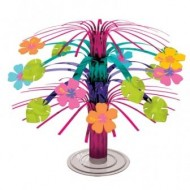 Island Party Luau Hibiscus Table Centrepiece