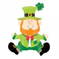 St Patrick's Day Irish Leprechaun Large Balloon