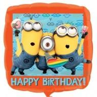 Despicable Me Minions Birthday Balloon