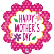 Happy Mother's Day Flower Garden Balloon