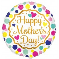 Happy Mother's Day Touch of Gold Balloon