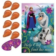 Pin The Nose on Olaf Frozen Party Game