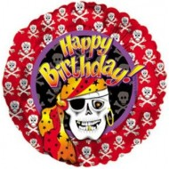 Pirate Happy Birthday Balloon
