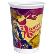 Disney Pirates of the Caribbean Plastic Cups
