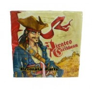 Disney Pirates of the Caribbean Napkins