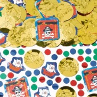 Pirate Treasure Party Table Confetti