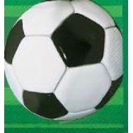 Football Soccer Party Napkins