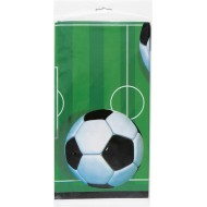 Football Soccer Party Plastic Tablecover