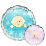A Star is Born Gender Reveal Baby Shower Balloon