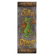 Medieval Jolly Dragon Tavern Sign