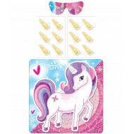 Pin The Horn On The Pretty Unicorn Party Game