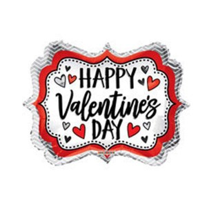 Happy Valentine's Day Frame Balloon